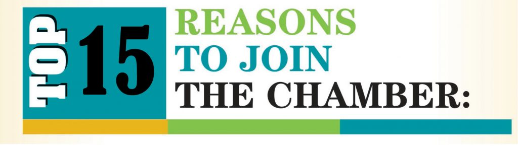 top 15 reasons to join the chamber
